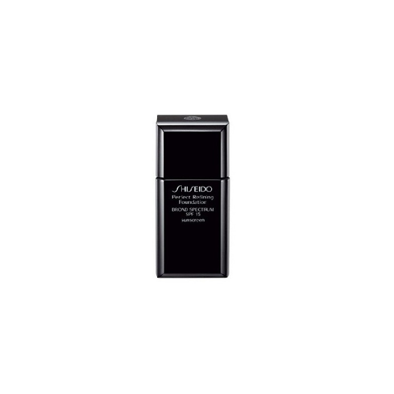 shiseido perfect refining foundation spf15. Black Bedroom Furniture Sets. Home Design Ideas