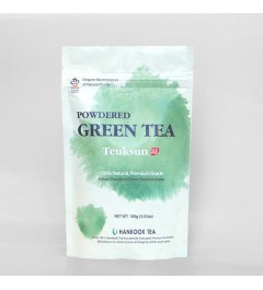 Teuksun Powdered Green Tea - 100g polybag