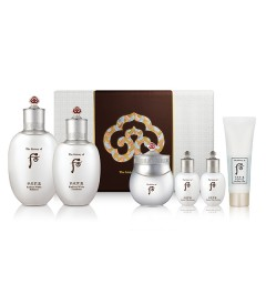 The History of  Whoo Gongjinhyang Seol Radiant White 3pcs Special Set