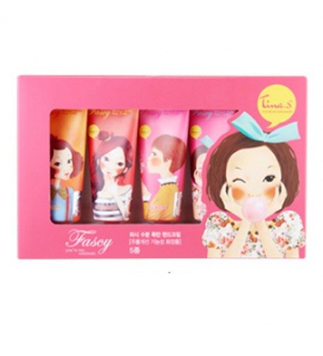 Fascy Moisture Bomb Hand Cream 40ml 5pcs Set