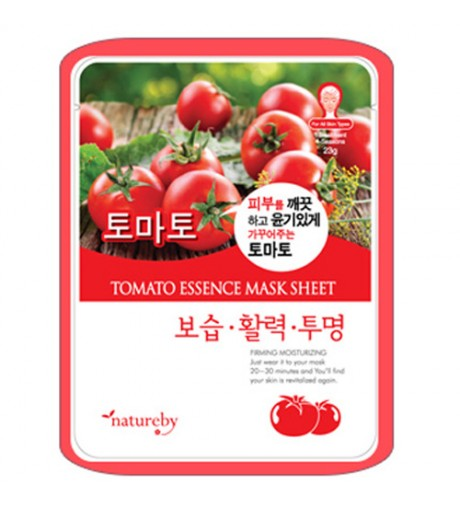 Natureby Tomato Essence Mask Sheet (10pcs)