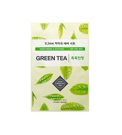 [ETUDE HOUSE] 0.2 Therapy Air Mask 1pcs (GREEN TEA)