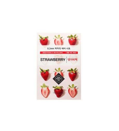 [ETUDE HOUSE] 0.2 Therapy Air Mask 1pcs (STRAWBERRY)