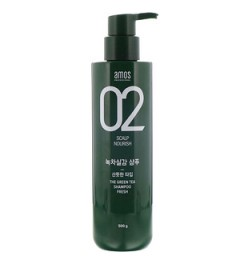 AMOS PROFESSIONAL  THE GREEN TEA SHAMPOO FRESH 500g