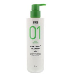 AMOS PROFESSIONAL PURE SMART SHAMPOO [FRESH] 500g
