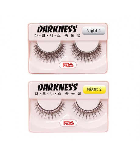 Darkness False Eyelashes Night