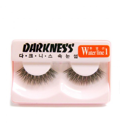 Darkness False Eyelashes Water Line