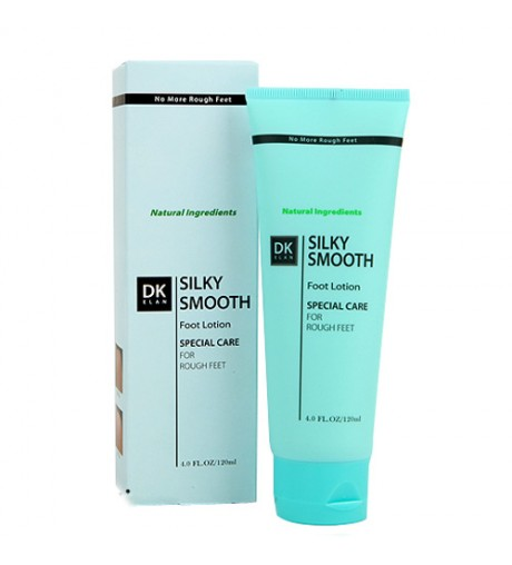 DK ELAN Silky Smooth Foot Lotion 4oz/120ml