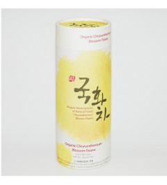 [Herbal] Organic Chrysanthemum Blossom Tisane - 20g canister EL