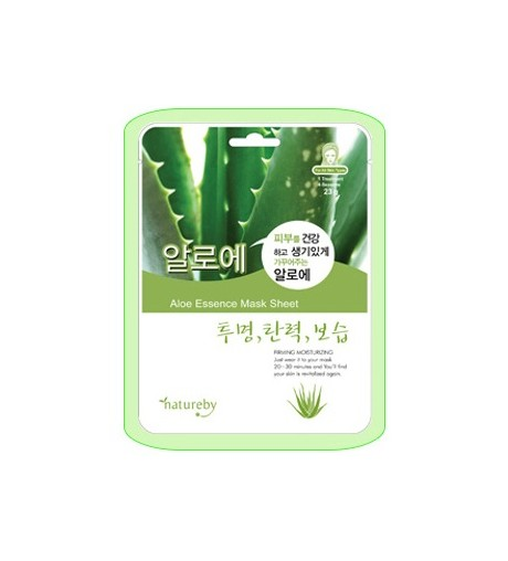 Natureby Aloe Essence Mask Sheet (10pcs)