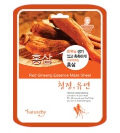 Natureby Red Ginseng Essence Mask Sheet (10pcs)